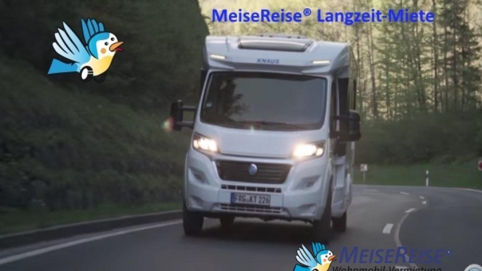 MeiseReise® Wohnmobil Langzeit Miete